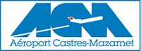 aeroport castres mazamet logo