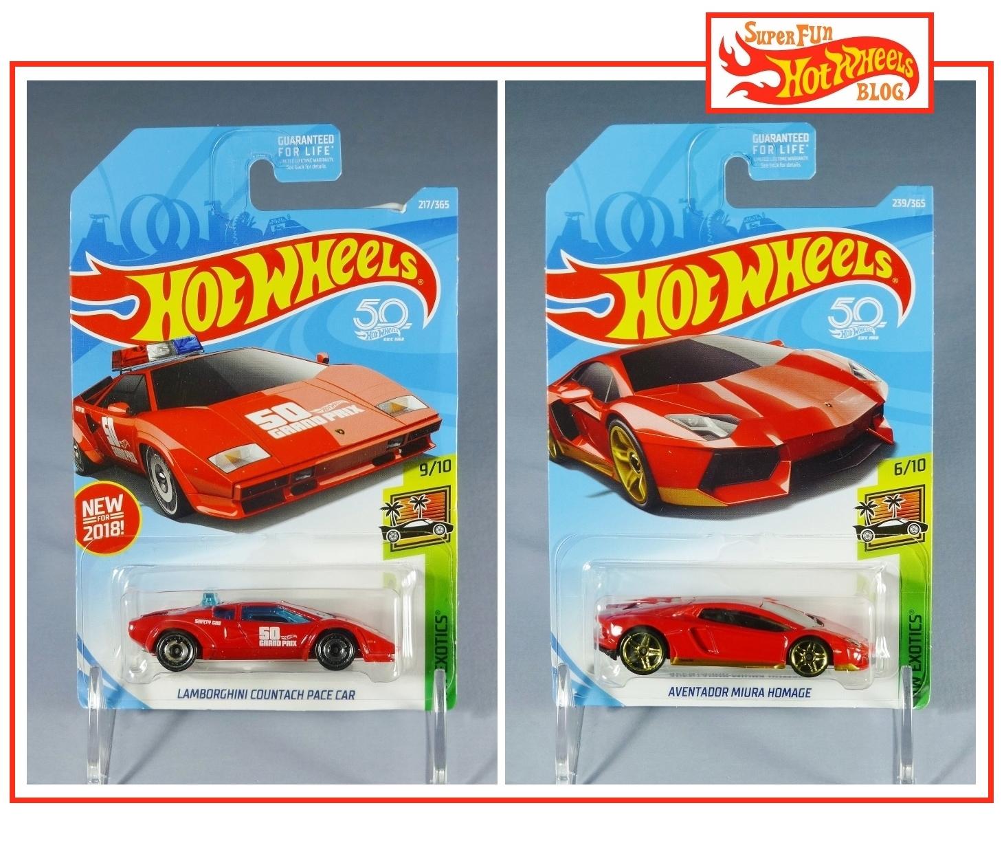 Super Fun Hot Wheels Blog Hw Lamborghini Countach Pace Car