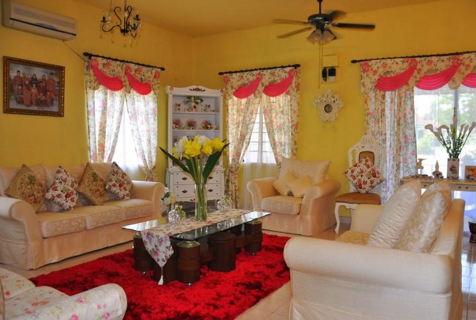 Dekorasi Ruang Tamu Rumah Kampung N Terlengkap