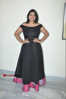 Telugu Actress Swathi Reddy Latest Stills in Black Gown  0088.JPG