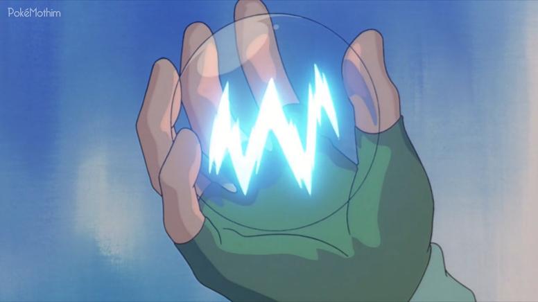 Ash consegue a Esfera de Gelo Filme 02