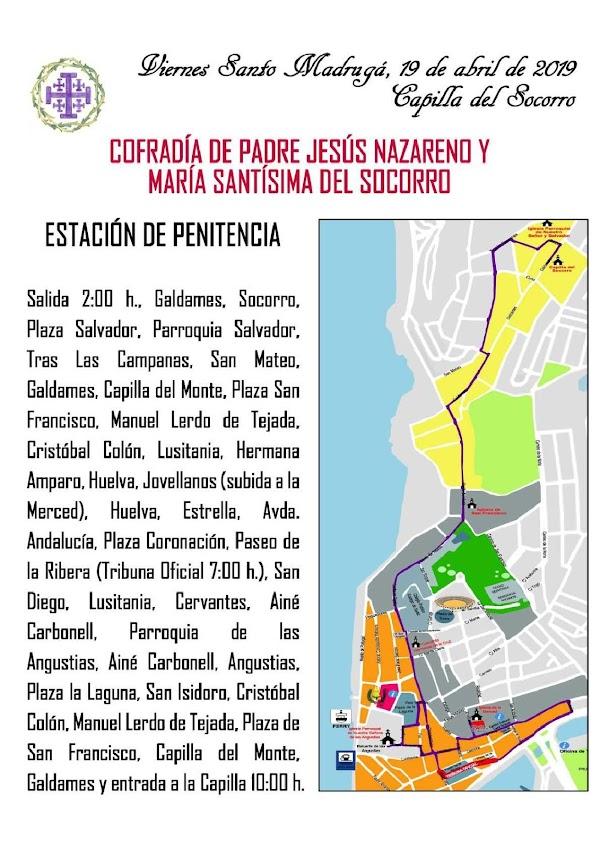 Programa y Horario Semana Santa Ayamonte (Huelva) 2019