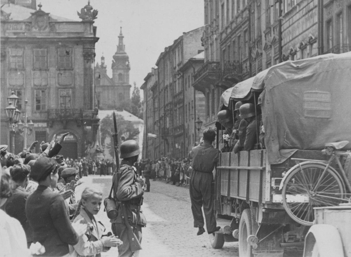 Львов встречает нацистов (1941 год)