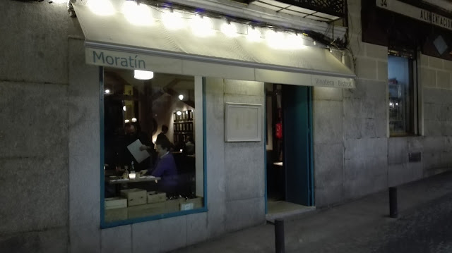 Fachada de Vinoteca Moratín