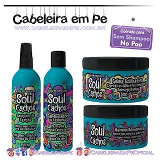 Soul Cachos - Sou Dessas (Gerenciador de texturas, Realçador de Cachos, Maionese Reconstrutora e Geleira Estilizadora liberados para No Poo)