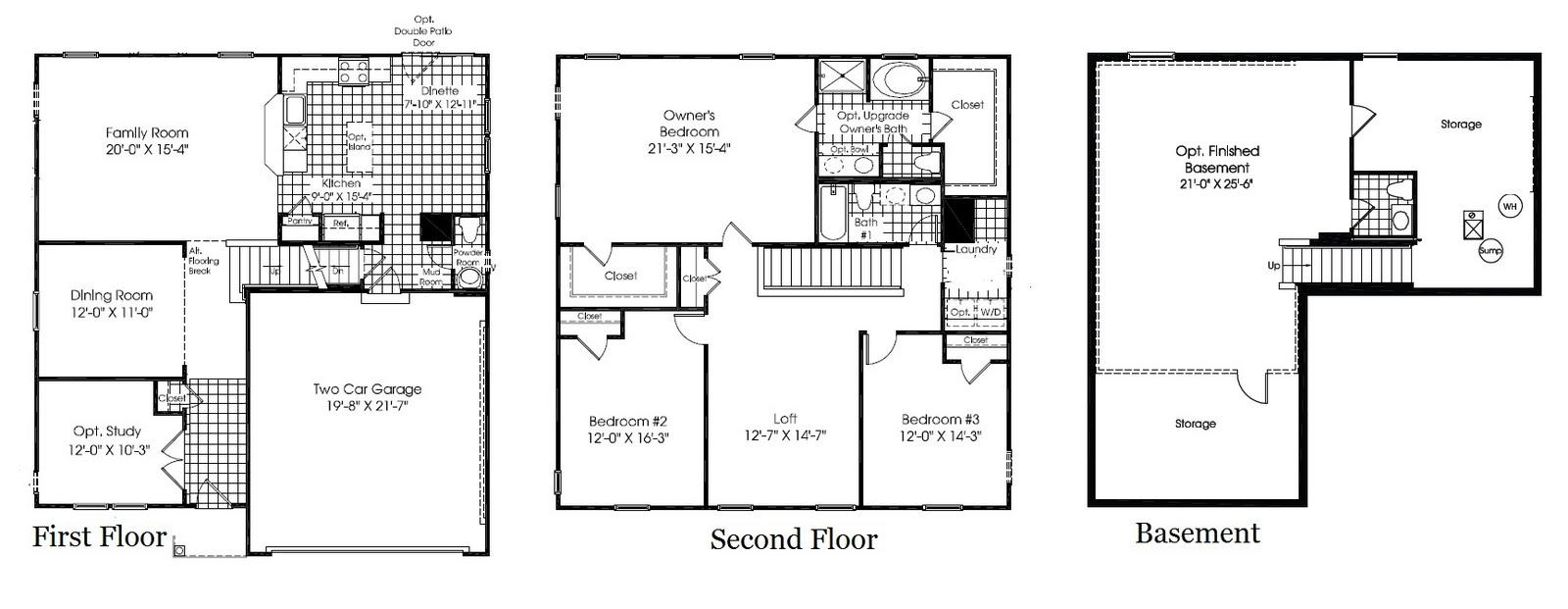 Ryan Homes Milan Interactive Floor Plan: Building 221: Introducing The Milan