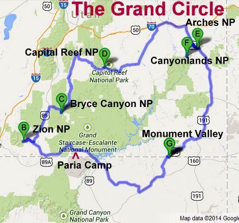 Utah travel distance