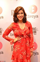 Mannara Chopra in deep neck Short red sleeveless dress Cute Beauty ~  Exclusive Celebrities Galleries 084.JPG