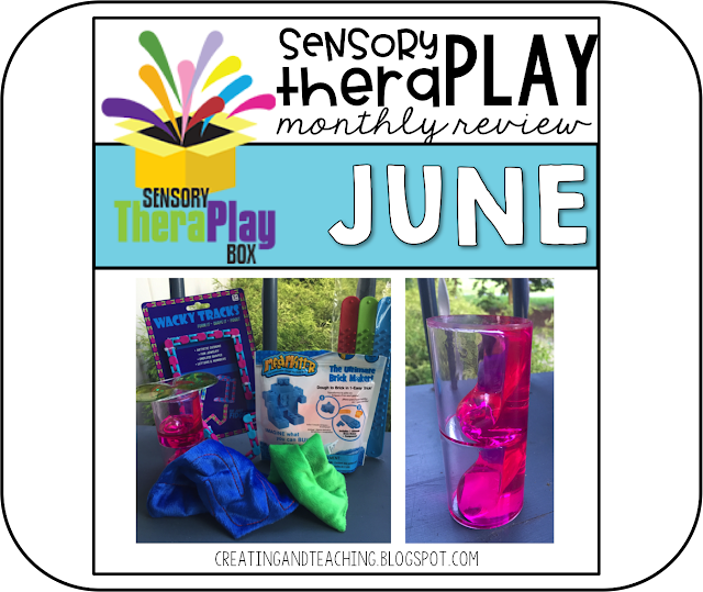 Sensory TheraPlay Box!--June Review