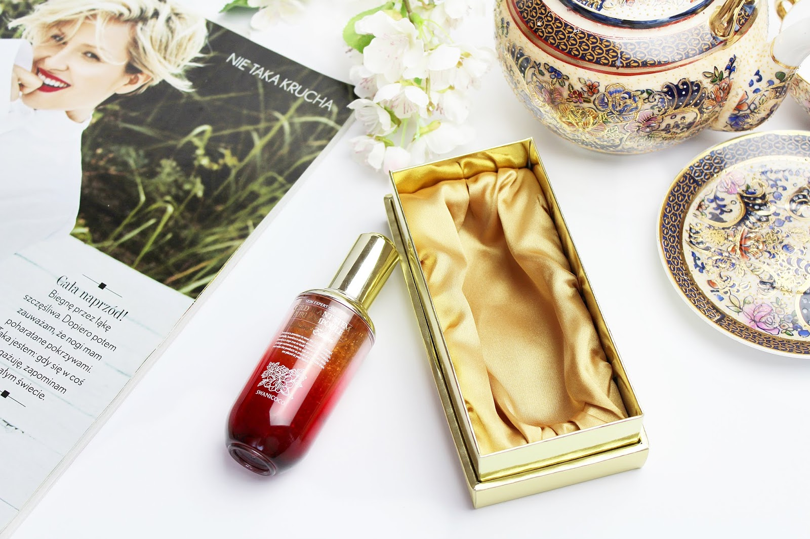 Swanicoco, Gold Plant Stem Pure Ampoule