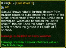naruto castle defense 6.0 kirin detail