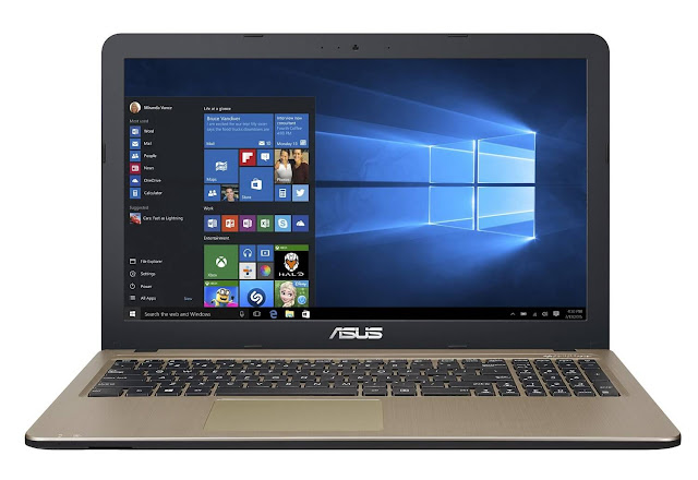 "ASUS X540SA-XX004D - Portátil de 15.6"" (Intel Celeron N3050, 4 GB de RAM, disco duro de 500 GB, Sistema Operativo FreeDOS) negro chocolate - teclado QWERTY Español"