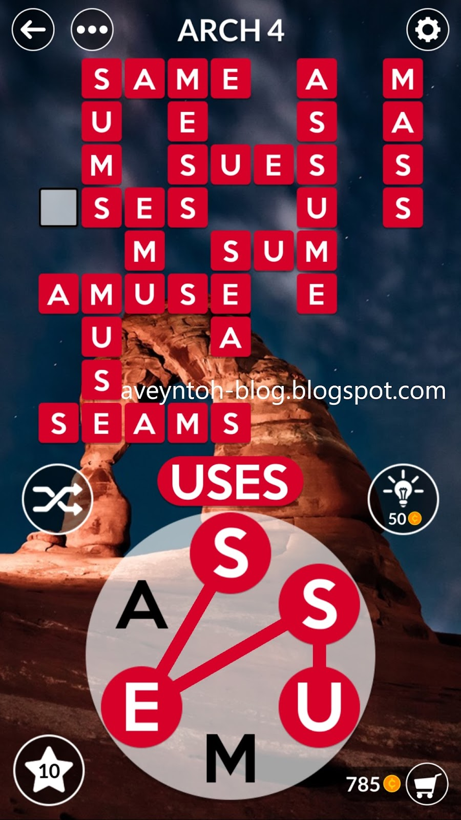 Aveyn S Blog Wordscapes Answers Canyon Arch