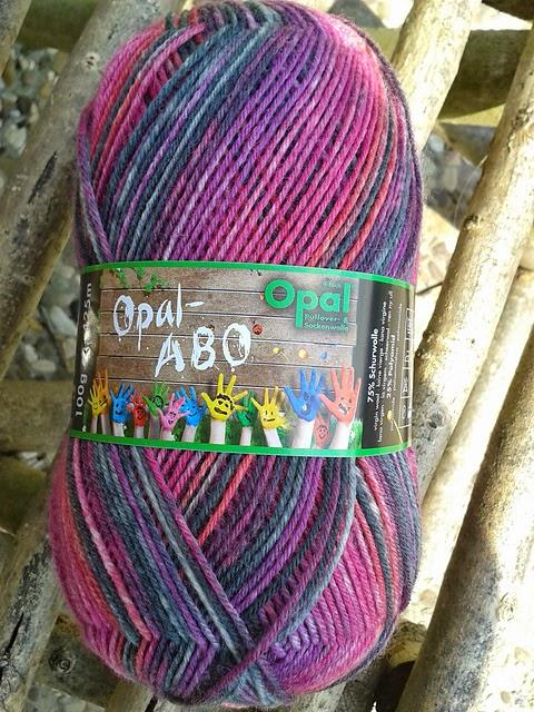 Westfalenmaus strickt Socken: Opal - Abo - Tag Mai 2015
