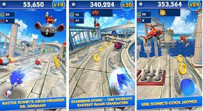 Sonic Dash Mod Apk Mod Money