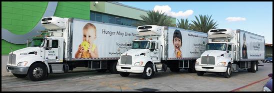 Houston Food Bank Kenworth Trucks