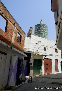 Minareto cilindrico Moulay Idriss