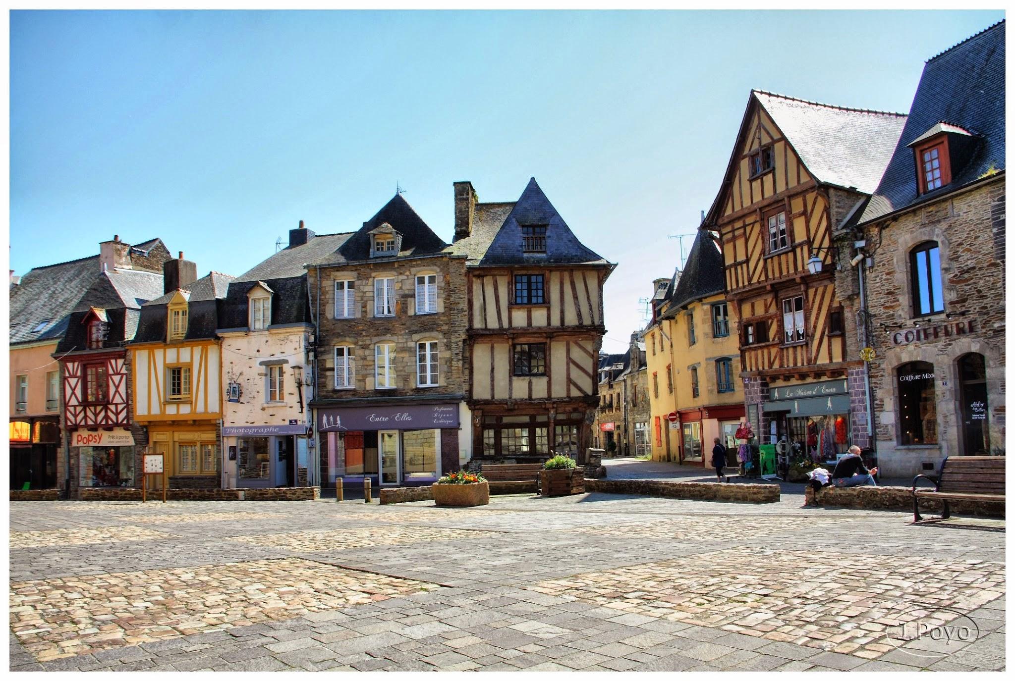 Malestroit, Bretaña, Francia