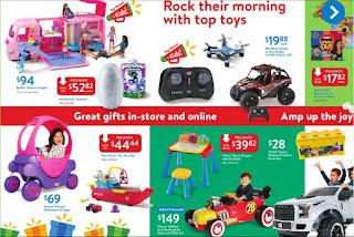 Walmart Weekly Ad Circular December 15 - 23, 2017 Gifts that Rock