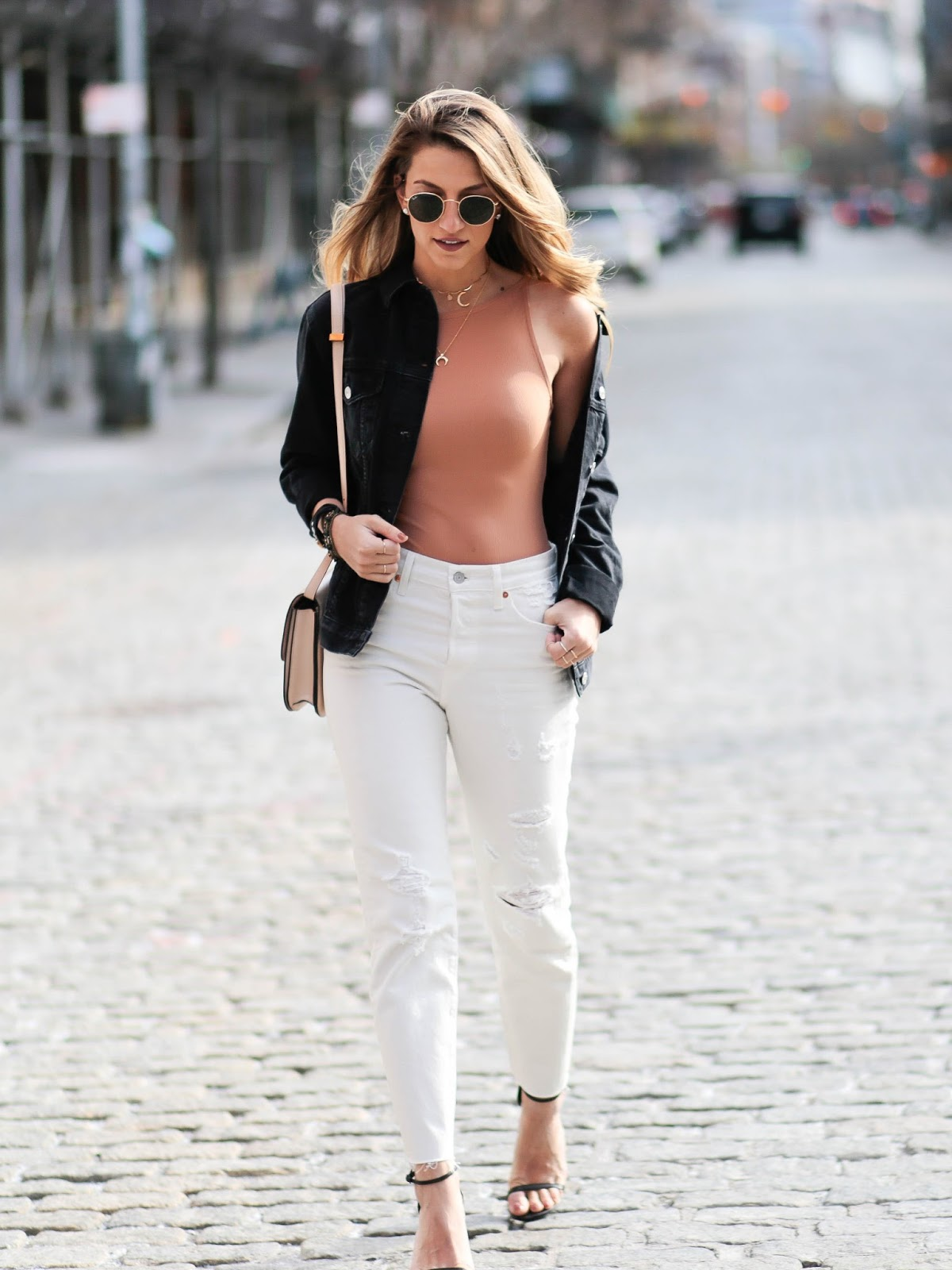 bodysuit and boyfriend jeans, dressed for dreams