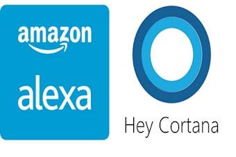 مايكروسوفت وأمازون يدشنان اتفاقا بشأن كورتانا وأليكسا
