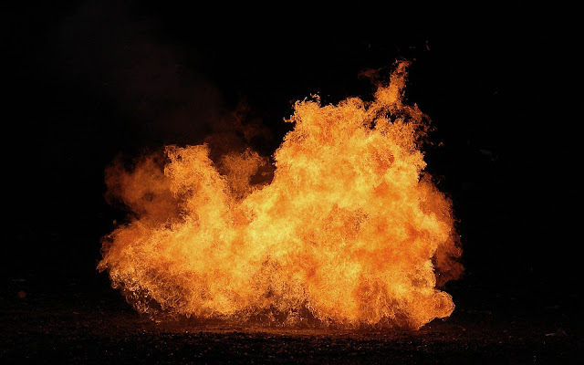 Vuur en explosie