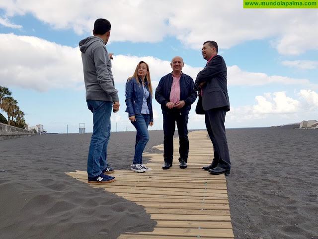 """El PP afirma que con el actual Grupo de Gobierno """"morirá todo el potencial que tiene la playa"""""""