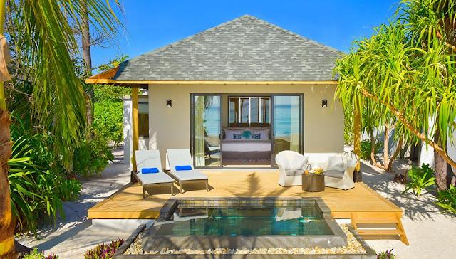 Amari Havodda Maldives 海灘泳池別墅-外觀