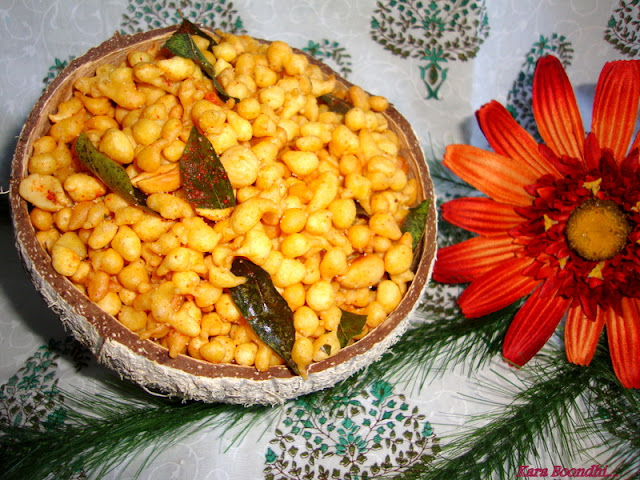 image of Kara Boondhi Recipe / Spicy Boondhi Recipe / Boondi Recipe