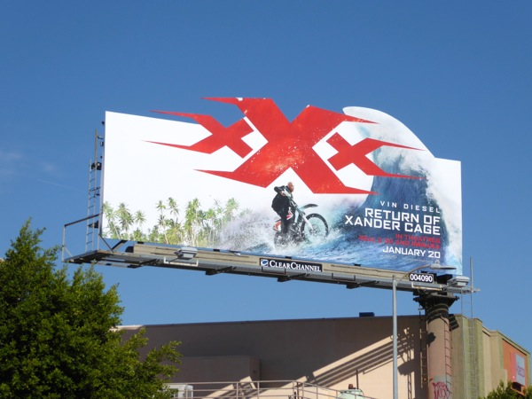 XXX Return of Xander Cage billboard