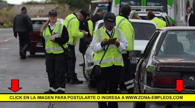 BUSCAN 50 AGENTES DE CONTROL CIUDADANO