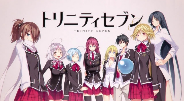 Trinity Seven Subtitle Indonesia 1 - 12 (END) - Download Gratis