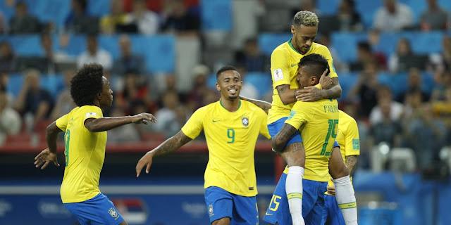 Prediksi Bola Brasil vs Meksiko Piala Dunia 2018