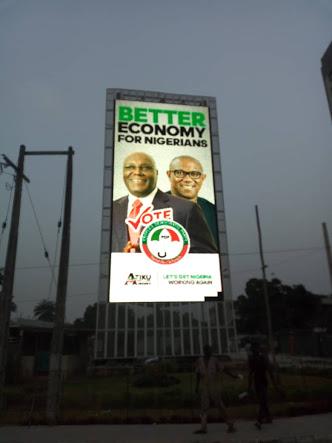 Atiku campaign banner