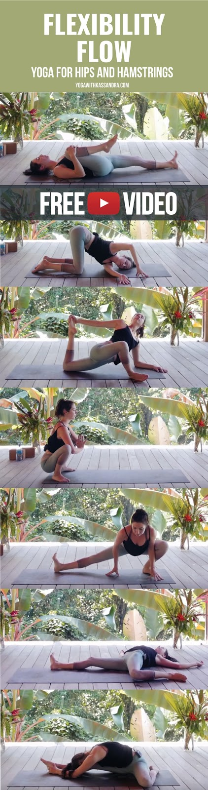 I get asked time and time again for a follow up to my one hour flexibility flow on my YouTube channel. And last week I put out a new one hour flexibility flow, this time focusing on the hips and hamstrings.