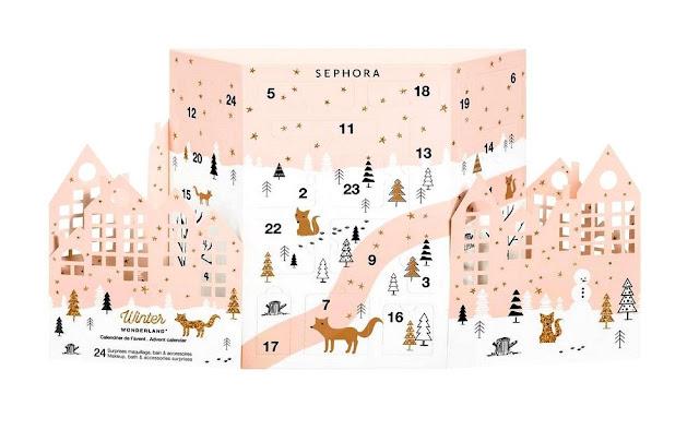 Calendrier de l'Avent Sephora 2017 - Blog beauté