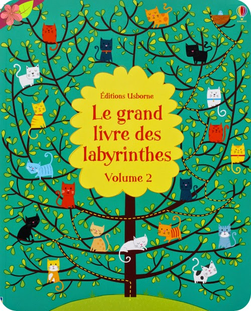 Le grand livres des labyrinthes - Volume 2 - Editions Usborne