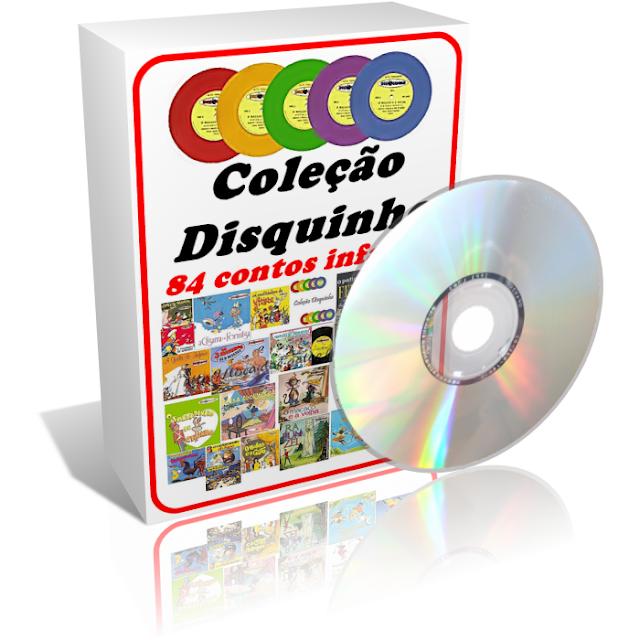 Disquinho - Coleção completa com 84 áudios