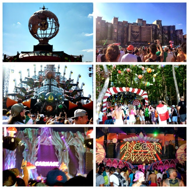 Tomorrowworld stages