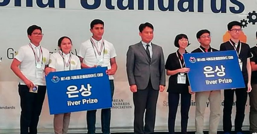 Estudiantes del COAR Lambayeque obtienen medalla de plata en Olimpiada Internacional de Normalización