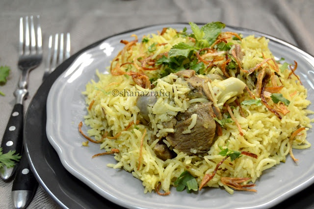 Mutton Pulao, Mutton flavoured rice