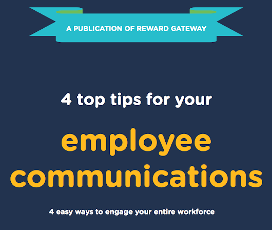 FREE EBOOK: 4 Top Tips For Your Internal Communications