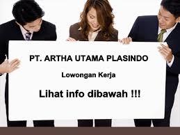 Info Loker Kawasan Industri MM2100 PT Artha Utama Plasindo