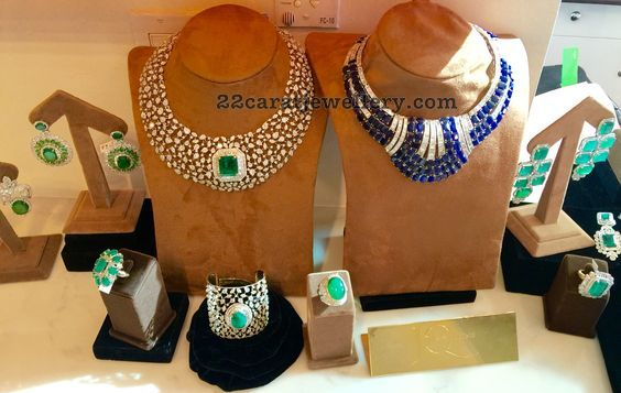 Diamond Emerald Blue Sappgire Sets