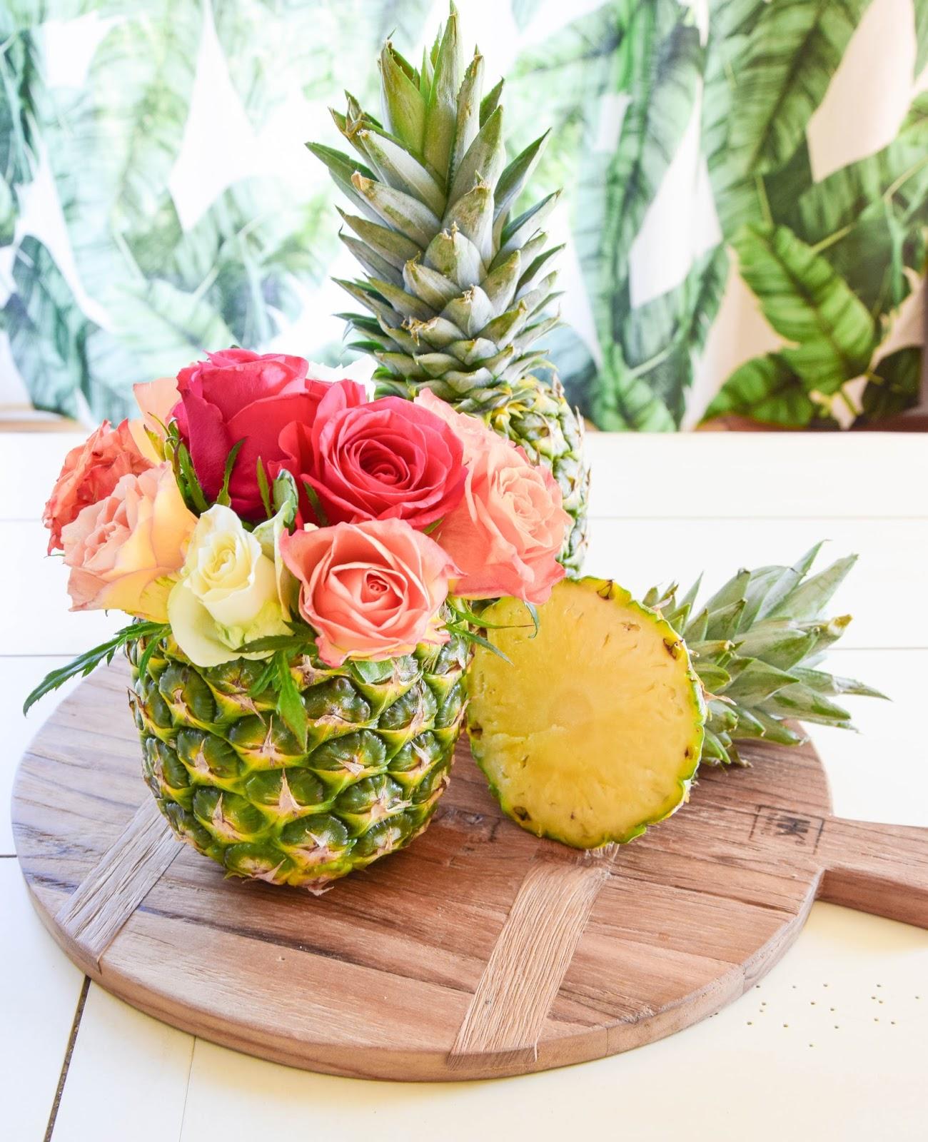 Uberlegen DIY Vase Aus Ananas: Einfach Und In 5 Minuten Fertig! Tischdeko Für Die  Sommerparty