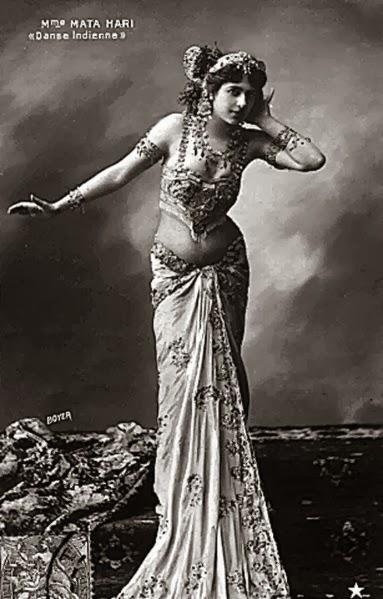 Mata Hari the femme fatale and Malabar