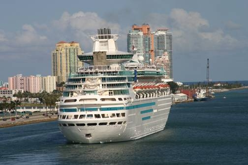 CRUISE SHIPS: Cruise Ships Out Of Baltimore