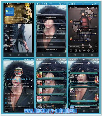BBM Mod Tema Uchiha Madara New V.2.12.0.9 APK