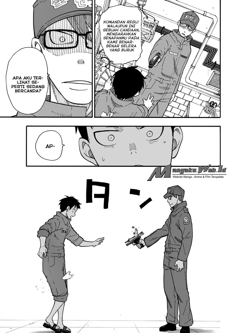 Fire Brigade of Flames Chapter 13-8