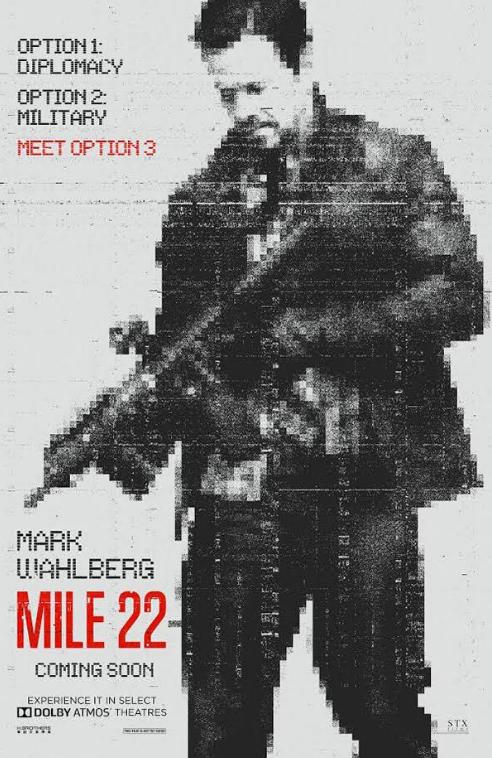 Mile 22 Trailer, 2018
